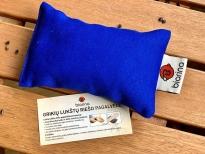 Grikių lukštų riešo pagalvėlė